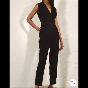 Judith & Charles Black Sleeveless Jumpsuit Size 2